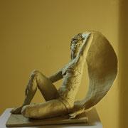 Sea-Wind, Sculpture in stoneware, Sarah Myers