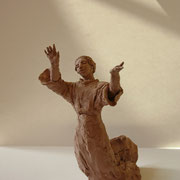 Jubilate, Sculpture in earthenware, Sarah Myers