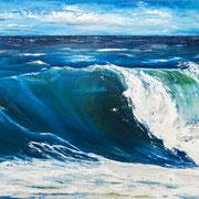 """""""Kraft"""", 170 x 100 cm, Öl auf Leinwand, 2013"""