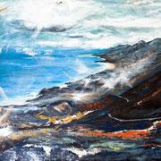 """Fuerteventura II"", 100 x 80 cm, Acryl auf Leinwand, 2012"