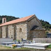 Eglise préromane Corse Santa Maria de Assunta à Pietralba