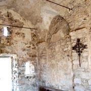 Chapelle Corse San Michel à Pietralba dans la vallée de l'Ostriconi