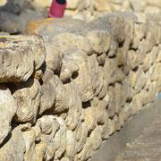 Moellons en pierre séche