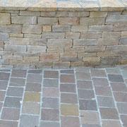 Muret en gneis