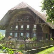 """das alte Haus mit der """"Ründi"""" gefiel uns gut"""