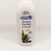 Hurtig Himalaya Shampoo & Duschgel pH 7,5 mit Aloe Vera (ohne synth. Duft- und Farbstoffe) 250 ml