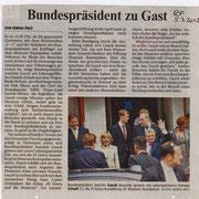 Besuch des Bundespresident Joachim Gauck und Frau Daniela Schadt; Düsseldorf SMKP, 04. Juli 2012