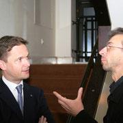 Carl Grouwet, Komponist Errki-Sven Tüür; Estland, Opernhaus Tallinn 2006