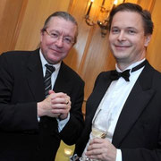 Sylvain Cambreling, Carl Grouwet; Geburtstag Edgar Parser; Brüssel, 02. Oktober 2008