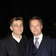 Komponist Mark Andre, Carl Grouwet; Baden Baden September 2007