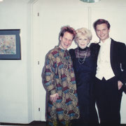 Peter Sellars, Lyn Parser, Carl Grouwet; Salzburger Festspiele Sommer 1991