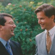 Gerard Mortier, Carl Grouwet; Salzburg 26. August 1993