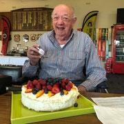 2019 07 24 Ernie's birthday. Thanks Anita and Linda.