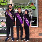 2018 08 18  Ahmet & the crew at Wangaratta Kebabs sponsored the 30 Target Point Score
