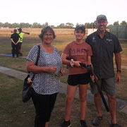 2019 02 26 Female Participation Initiative - Proud parents Donna & Dave Cole with daughter Chelsea.