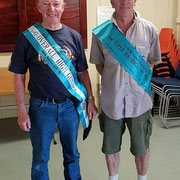 2018 11 10  Our Vice Pres. Brian Reid, here with Ross Winnell, won Skeet High Gun at Numurka/Shepp.