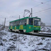 18 ноября 2004 года. Вагон 71-608КМ №001 на Узле Хасана Туфана.  Автор фото: Александр © (Польша)