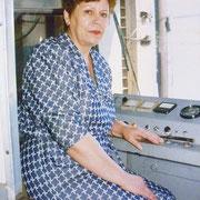 Сафонова А.И. Водитель, совершившая первый рейс до Сидоровки.