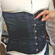 Vérification de la taille du corset pour sa finalisation