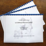 Syllabus sur la formation de base en corseterie