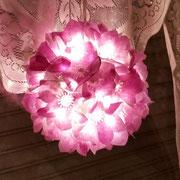 Blütenleuchtkugel
