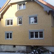 Rheintalhaus mit Runschindeln von Greussing Holzschindeln