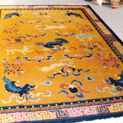 Chinateppich um 1930, 330 x 220 cm