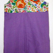 Kleid XENIA, Größe 110/116, Baumwollstoffe, Wickeloptik