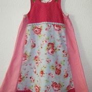 Einschulungskleid VIDA, Größe 128/134, Baumwollstoffe, lange mitwachsend