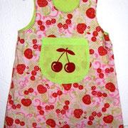 Kleid FRÜCHTCHEN, Größe 98/104, Baumwollstoffe