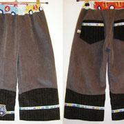 Cordhose VERKEHR, Größe 98/104, Baumwollcord  & Baumwollstoffe