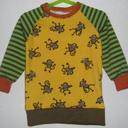 LA-Shirt AFFEN, Gr.98, Baumwolljerseymix