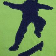 Applikation Skater, Vorlage ottobre.com