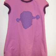 Kleid PIPPI, Größe 98/104, Interlock/ Jersey