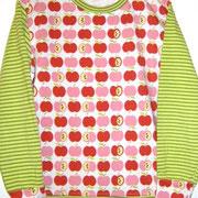 Shirt ÄPFEL, Größe 128, Baumwolljersey