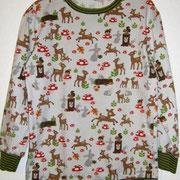 Shirt BAMBI, Größe 128, Baumwolljersey