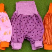 Pumphosen, Newborngröße, WBB