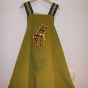 Wickelkleid ANNA, Größe 110/116, Baumwollcord