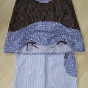 Tunikakleid NOSTALGIE, Größe 116-128,  Baumwolle, mit passender Hose