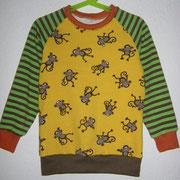 Shirt AFFEN, Größe 116, Baumwolljerseymix
