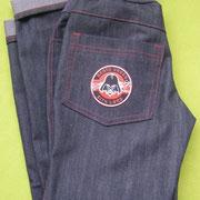 Jeans JIP, Größe 134, mit Schlupfbündchen