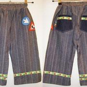 Jeanshose VERKEHR, Größe 104/110, Baumwollcord  & Baumwollstoffe
