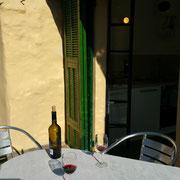 Ferienwohnung Dolcedo: de Sonnaz II, Terrasse