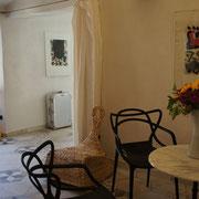Ferienhaus Dolcedo: Centrale I, Wohnzimmer