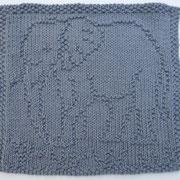 Elefant Spültuch / Waschlappen