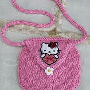Kinder-Umhängetasche - kleines Täschchen, das nach Belieben verziert werden kann