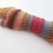 Ringelreihen - Armstulpen, fingerlose Handschuhe