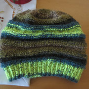 """Spirali-Mütze - das Garn ist in verschiedenen Farben bei mir erhältlich (siehe """"Schnäppchen"""")"""