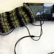 Media Tablet-Hülle mit Loch für das Kopfhörerkabel