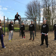 Das Team von Street Workout Hamburg e.V.
